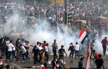 Irak'taki gösterilerde 254 kişi öldü