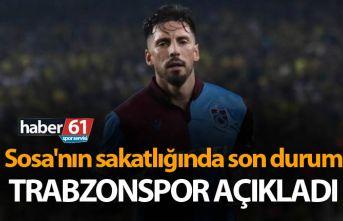 Sosa'nın sakatlığında son durum - Trabzonspor...