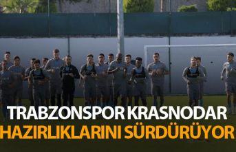 Trabzonspor Krasnodar maçı hazırlıklarını sürdürüyor