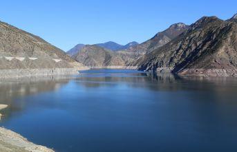 Artvin'de baraj suyu seviyesi düştü