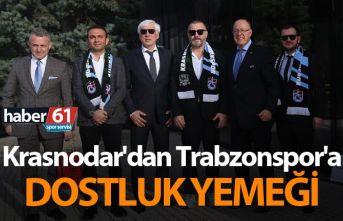 Krasnodar'dan Trabzonspor'a dostluk yemeği