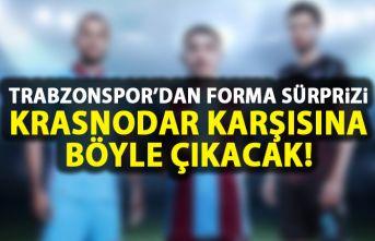 Trabzonspor'da forma sürprizi! Krasnodar karşısına...