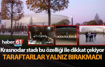 Trabzonspor Krasnodar maçının oynayacağı stat...