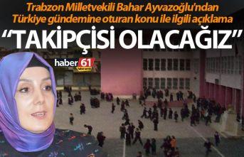 Bahar Ayvazoğlu'ndan Türkiye gündemine oturan...