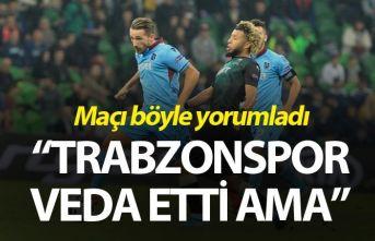 """""""Trabzonspor Avrupa'ya deva etti ama…"""""""