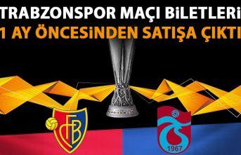 Trabzonspor maçı biletlerini şimdiden satışa...