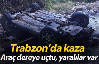 Araklı'da kaza: 3 yaralı