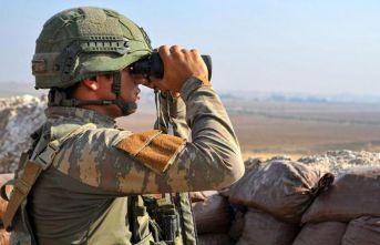 Barış Pınarı'nda 24 saatte 8 taciz ve saldırı
