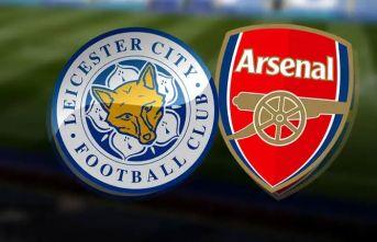Leicester, Arsenal'i yendi