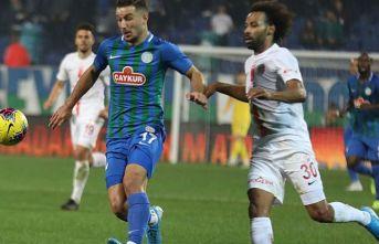 Rizespor Antalya'yı yendi