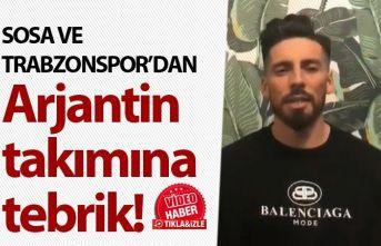 Trabzonspor'dan Estudiantes'e tebrik