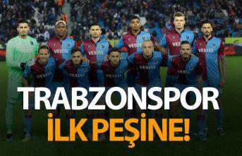 Trabzonspor ilk peşinde!