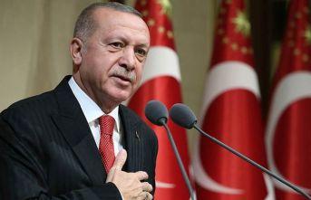 Cumhurbaşkanı Erdoğan'dan 'yeşil bir...