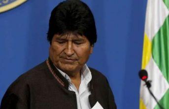 Bolivya Devlet Başkanı görevi bıraktı!