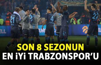 Son 8 sezonun en iyiTrabzonspor'u