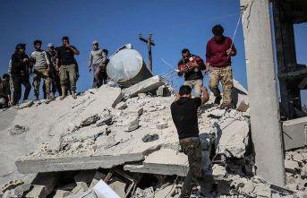 Rusya'nın İdlib'e hava saldırısında 4 sivil öldü, 10 sivil yaralandı