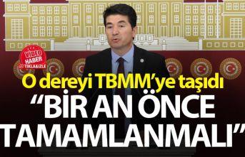 Ahmet Kaya Çilekli deresini TBMM'ye taşıdı
