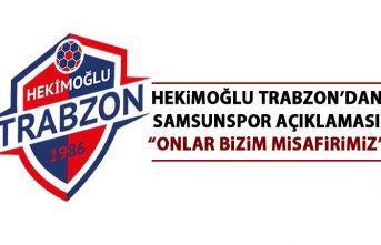 Trabzon ekibinden Samsunspor açıklaması: Onlar...