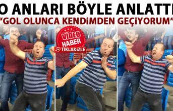Trabzonspor maçındaki ilginç dansın sahibi konuştu: Gol atınca kendimden geçiyorum!