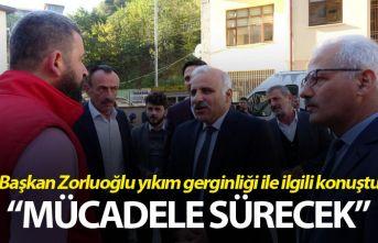 """Zorluoğlu: """"Yaylalarda kaçak yapılaşma ile mücadele sürecek"""""""