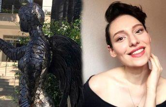 Dördüncü kez yakalandığı kanserden dolayı vefat eden Neslican Tay'ın heykeli dikildi