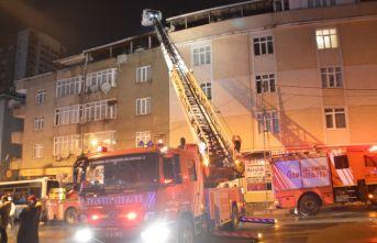 Gaziosmanpaşa'da yangın!