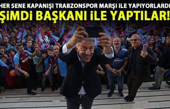 Her kapanış törenini Trabzonspor marşı ile yapan okula Ağaoğlu'ndan sürpriz!