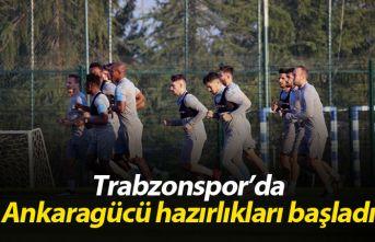 Trabzonspor'da Ankaragücü hazırlıkları başladı