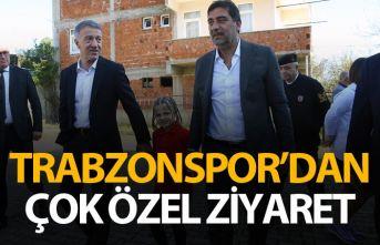 Trabzonspor'dan çok özel ziyaret