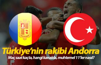 Andorra Türkiye maçı saat kaçta hangi kanalda?