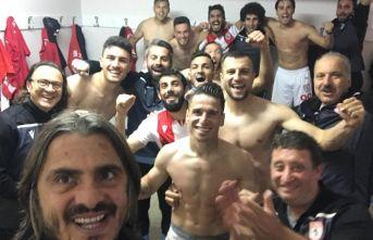 Samsunspor'da galibiyet coşkusu!