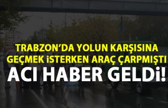 Trabzon'da kaza! 4 çocuk babası hayatını kaybetti!