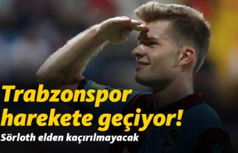 Trabzonspor'da Sörloth girşimi