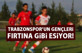 Trabzonspor'un genç yıldızları göz kamaştırıyor