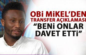 Trabzonspor'un yıldızı Obi Mikel'den transfer açıklaması: Beni onlar davet etti!