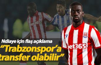 """Ndiaye için flaş açıklama! """"Trabzonspor'a transfer olabilir"""""""