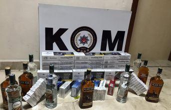 Ordu'da kaçak sigara operasyonu!