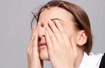 Sarkık göz kapağı yorgunluk sebebi