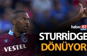 Sturridge dönüyor
