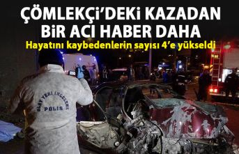 Trabzon'daki trafik kazasından bir acı haber daha! Hayatını kaybedenlerin sayısı 4'e yükseldi!