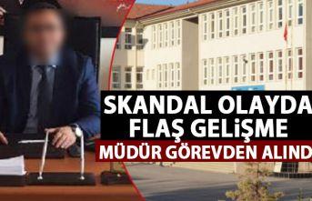 Türkiye'nin konuştuğu olayda flaş gelişme! O müdür görevden alındı!