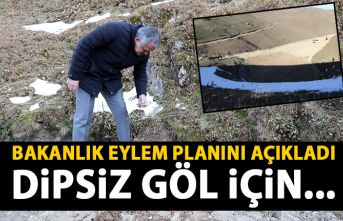 """Çevre ve Şehircilik Bakanlığı """"Dipsiz göl""""..."""