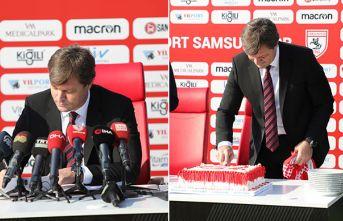 Ertuğrul Sağlam, doğum gününde Samsunspor'a imza attı