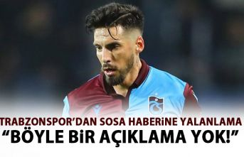 Trabzonspor'dan o habere yalanlama: Böyle bir...