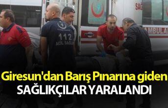 Giresun'dan Barış Pınarına giden sağlıkçılar...