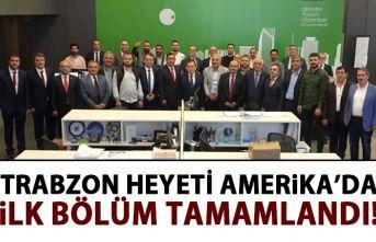 Trabzon heyeti Amerika'da!