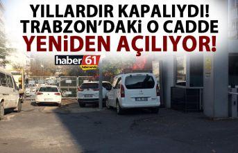 Trabzon'un merkezinde yıllardır kapalı olan...