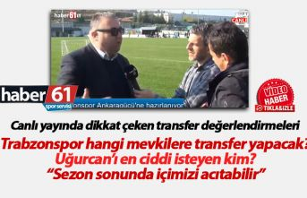 Trabzonspor'un transfer hedefi ve Uğurcan'la...