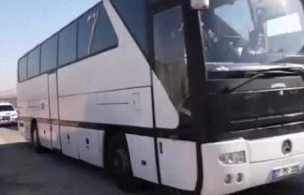 """""""70 aile daha Tel Abyad'a geri dönmek için yola çıktı"""""""