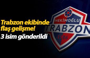 Hekimoğlu Trabzon'da flaş gelişme! 3 ayrılık